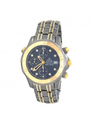 Omega Seamaster 18k Yellow Gold & Titanium Automatic Men's Watch 2297.80.00