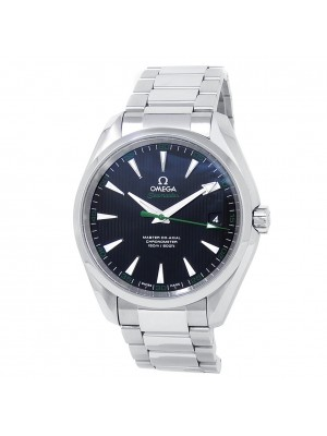 Omega Seamaster Stainless Steel Automatic Black Men's Watch 231.10.42.21.01.004