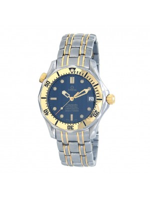 Omega Seamaster 18k Yellow Gold & Stainless Steel Automatic Watch 2352.80.00