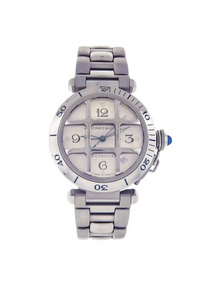 Cartier Pasha Stainless Steel Automatic Men's Watch 2379