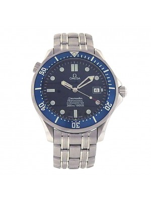 Omega Seamaster Stainless Steel Blue Dial Automatic Men's Watch 2531.80.00