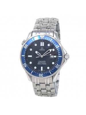 Omega Seamaster Stainless Steel Quartz Blue Men's Watch 2541.80.00