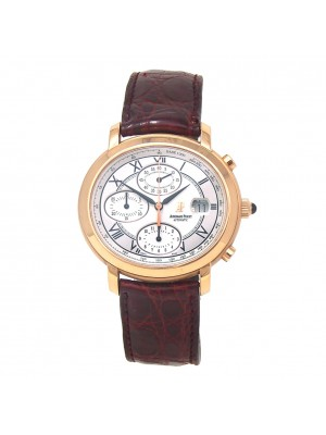 Audemars Piguet Millenary Chronograph 18k Rose Gold Automatic 25822OROO.D067CR02
