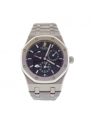 Audemars Piguet Royal Oak Dual Time 26120ST.OO.1220ST.03 Power Reserve Men Watch