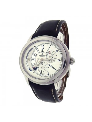 Audemars Piguet Millenary 26150ST.OO.D084CU.01 Stainless Steel Leather Automatic Silver Watch