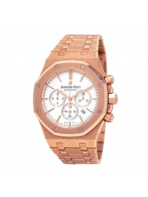 Audemars Piguet Royal Oak Chronograph 18K Rose Gold Watch 26320OR.OO.1220OR.02