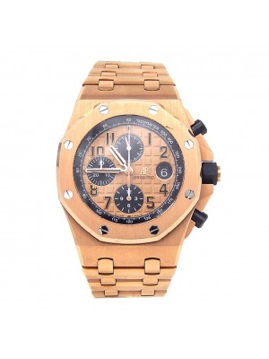 Audemars Piguet Royal Oak Offshore Chronograph 18k Rose Gold 26470OR.OO.1000OR01