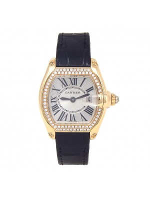 Cartier Roadster 18k Yellow Gold Swiss Quartz Ladies Watch 2676