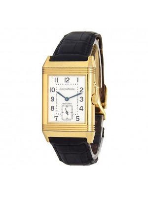 Jaeger-LeCoultre Reverso Duo 18k Yellow Gold Manual Ladies Watch 270.1.54