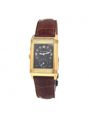 Jaeger LeCoultre Reverso Duo 18k Yellow Gold Manual Ladies Mid-Size 270.25.4