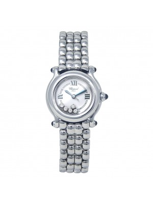 Chopard Happy Sport Classic Round Stainless Steel Quartz Ladies Watch 2782503006