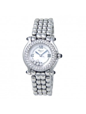 Chopard Happy Sport Stainless Steel Quartz Ladies Watch 278294-2005