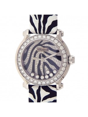 Chopard Happy Sport Animal World Zebra Ladies Quartz Diamond Watch 278475-2003