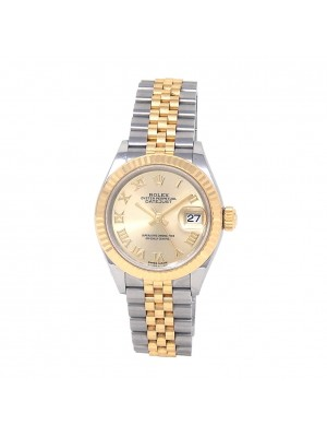 Rolex Datejust 18k Yellow Gold & Stainless Steel Automatic Ladies Watch 279173