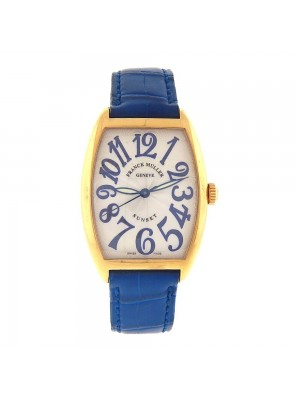 Franck Muller Cintree Curvex Sunset 18k Yellow Gold Automatic Men's Watch 2852SC