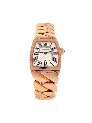 Cartier La Dona 18K Rose Gold Roman Numerals Swiss Quartz Ladies Watch 2904