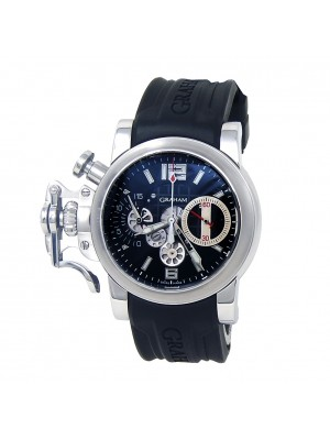 Graham Chronofighter RAC Stainless Steel Automatic Men's Watch 2CRBS.BK1A.K25B