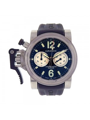 Graham Chronofighter Oversize Stainless Steel Automatic Watch 2OVAS.B01A.K10B