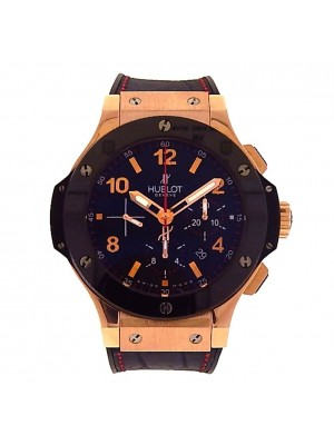 Hublot Big Bang 18K Rose Gold Carbon Fiber Automatic Men's Watch 301.PB.131.RX