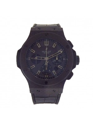 Hublot Big Bang All Carbon Fiber 301.QX.1740.GR  Black Automatic Men's Watch