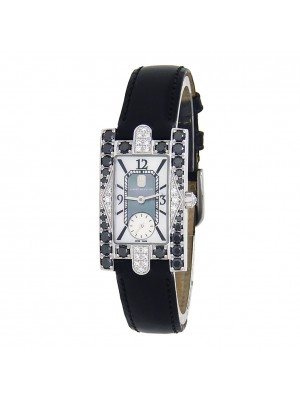 Harry Winston Avenue Lady 18k White Gold Quartz Ladies Watch 310-LQWL