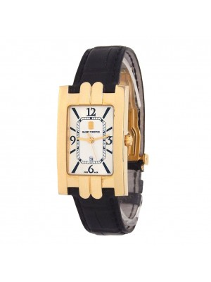 Harry Winston Avenue 18k Yellow Gold Quartz Ladies Watch 310UQG