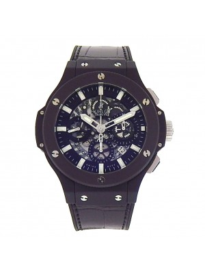 Hublot Big Bang Aero Black Magic 311.CI.1170.GR Black Ceramic Black Leather Rubber Automatic Black Skeleton Men's Watch