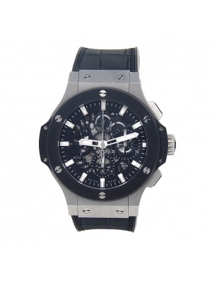 Hublot Big Bang Aero Bang Stainless Steel Automatic Skeleton Watch 311.SM.1170GR