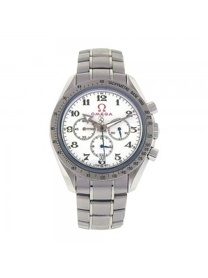 Omega Speedmaster Broad Arrow S.S Automatic Chronograph Watch 32110.42.50.04.001