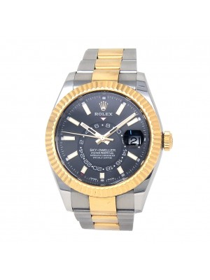 Rolex Sky-Dweller 18k Yellow Gold & Stainless Steel Automatic Men's Watch 326933