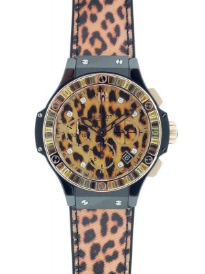 Hublot Big Bang Leopard 341.CP.7610.NR.1976 Ceramic Red Gold Automatic Watch