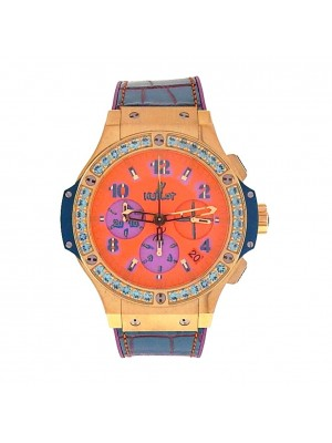 Hublot Big Bang Pop Art 18K Yellow Gold Automatic Watch 341.VL4789.LR.1207.POP15