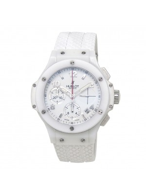 Hublot Big Bang Aspen White Ceramic Automatic Chronograph Men's Watch 342CH230RW