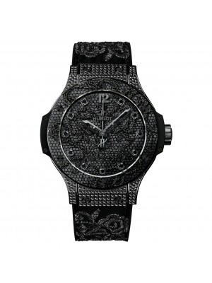 Hublot Big Bang Broderie Stainless Steel Automatic Mens Watch 343.SV.6510.NR0800