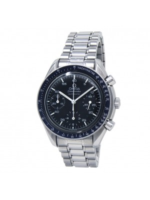 Omega Speedmaster Stainless Steel Chronograph Auto Black Men's Watch 3510.50.00