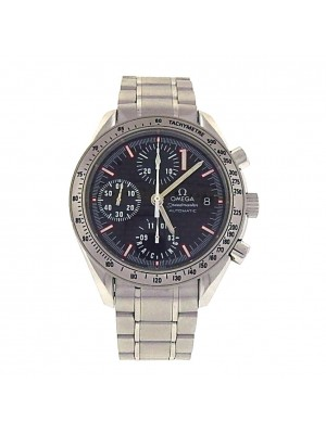 Omega Speedmaster Date Blck Dial Stainless Steel Automatic Mens Watch 3519.50.00