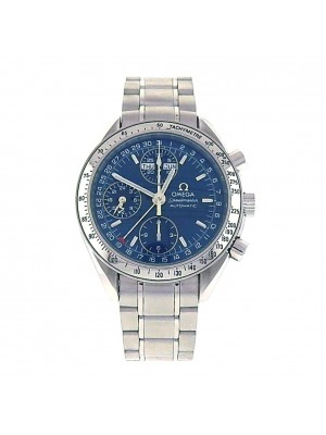 Omega Speedmaster Day-Date Stainless Steel Automatic Chronograph Watch 3523.8000