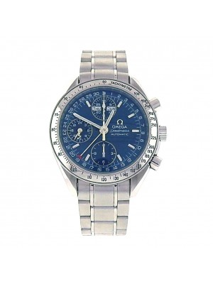 Omega Speedmaster Day-Date 3523.80.00 Stainless Steel Automatic Blue Men's Watch