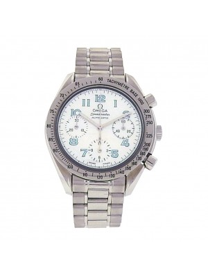 Omega Speedmaster 3534.71.00 Stainless Steel Chronograph Automatic Mother of Pearl Men's Watch