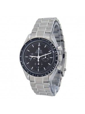 Omega Seamaster Stainless Steel Chronograph Auto Black Men's Watch 3570.50.00