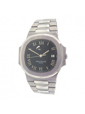 Patek Philippe Nautilus Power Reserve 3710/1A Steel Automatic Black Men's Watch