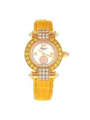 Chopard Imperiale 18k Yellow Gold & Diamonds Swiss Quartz Ladies Watch 39321320