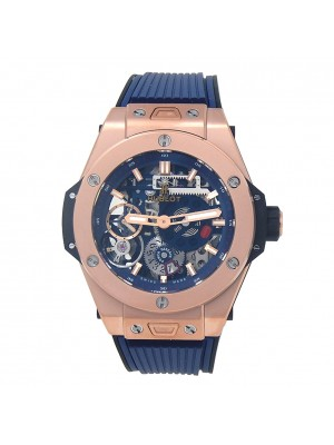 Hublot Big Bang MECA-10 18k King Gold Skeleton Manual Men's Watch 414.OI.5123.RX
