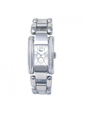 Chopard La Strada Stainless Steel Diamond Bezel Quartz Ladies Watch 418415-3001
