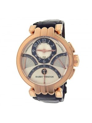Harry Winston Premier Excenter Chronograph PREACT39RR002 Rose Gold Men's Watch