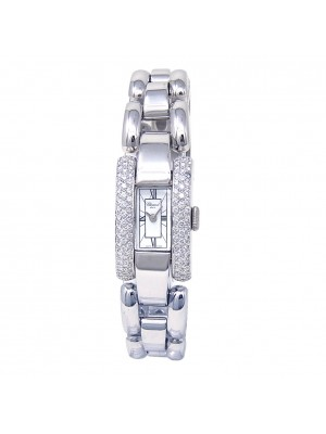 Chopard La Strada 18k White Gold Swiss Quartz Diamond Ladies Watch 41/7396
