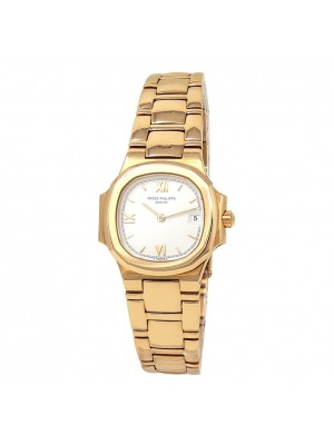 Patek Philippe Nautilus 18k Yellow Gold Quartz Ladies Watch 4700/51