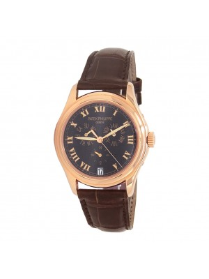 Patek Philippe 18k Rose Gold Automatic Men's Watch 5035R