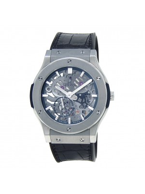 Hublot Classic Fusion Ultra-Thin Titanium Manual Wind Men's Watch 515.NX.0170.LR