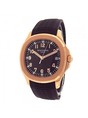 Patek Philippe Aquanaut 5167R-001 Rose Gold Rubber Automatic Brown Men's Watch